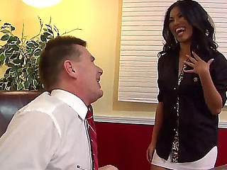 Cindy Starfall is an usual office