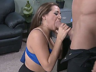 Horny man Billy Glide seduces his