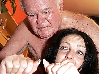 Old Men Vs Horny Teens Cock-Bursting Compilation Tube Video