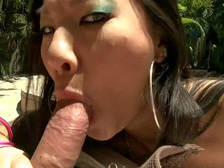 Asa Akira is a naff feel one's way lover who likes load of shit