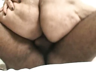 Latin BBW Leika Smith Ass Pound & Facial