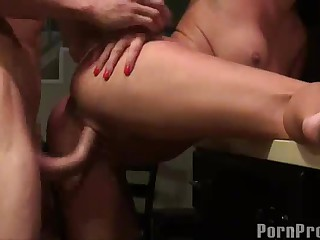 Big White Chief latina takes bushwa in homemade sex clip