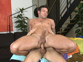 His loving mouth takes that cock deep inside and plays with it!