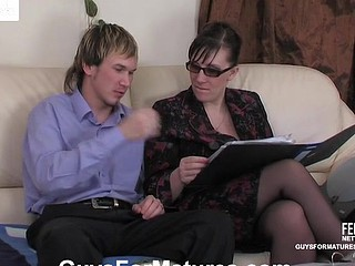 Silvia&Rolf naughty mommy in dissimulation