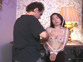 Taskmaster Rick not quite pulls her nipple right off