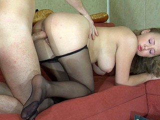 Alina&Rolf sexy nylon legs movie