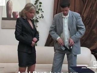 Benett&Lewis mindblowing anal pantyhose movie
