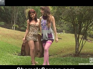 Paola&Patricia nasty transsexual gamble