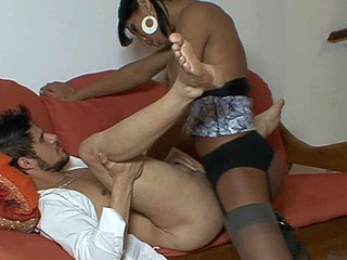 linda&edu lady-boy pantyhosefucked on sheet