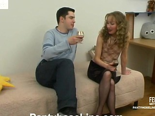 Leila&Adam pantyhose sex episode