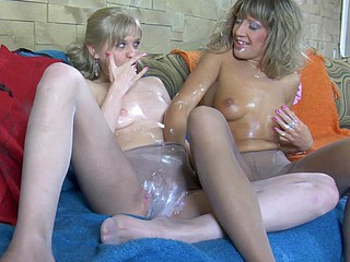 Paulina&Cora horny hose movie scene