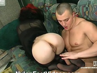 Katrine&Nicholas hawt nylon feet integument