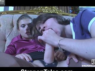 Alana&Owen swanky dong action