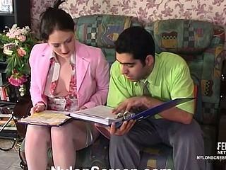 Gwendolen&Sebastian vivid nylon act