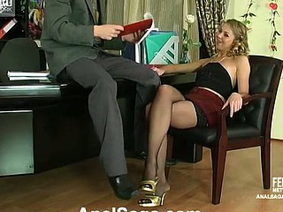 Alina&Ralph anal couple on movie chapter scene