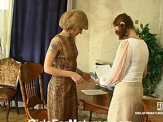 Esther&Irene lesbo aged clip