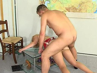 Ira&Peter cool anal make oneself heard action