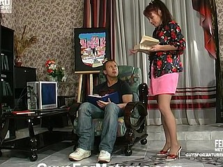 Lillian&Adrian cute mamma on movie scene