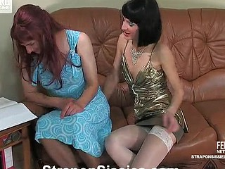 Emilia&Gilbert ding-dong sissysex clip