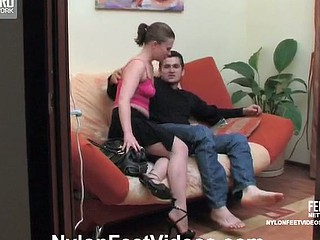 Alana&Silvester surprising nylon toes feign