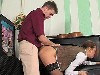 Helena&Mike kinky mommy in act