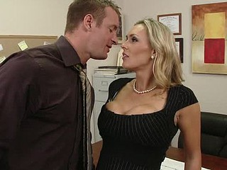 Tanya is in love with her co-worker Pete and tries to hook up with him each chance this babe gets. The solely problem is TJ, the shlong blocker of the office will at no time let him have her.