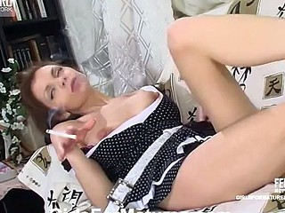 Wicked chick taking the almost all from vibrator-action with skilful older chick