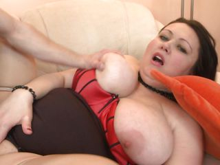 Like bbw? Who doesn't and when we talk about bbw we think of a lot more to love! Ashia is one of these whores and when she widen her legs offering that moist cunt the guy goes mad about it. He drills her deep and hard and she groans with pleasure, groping these big tits and wishing for semen to fill her womb