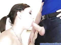 Petite Legal Age Teenager Learns Unfathomable Throating